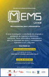 MEMS-LATAM  22-26 Julio 2019, Santiago, Chile